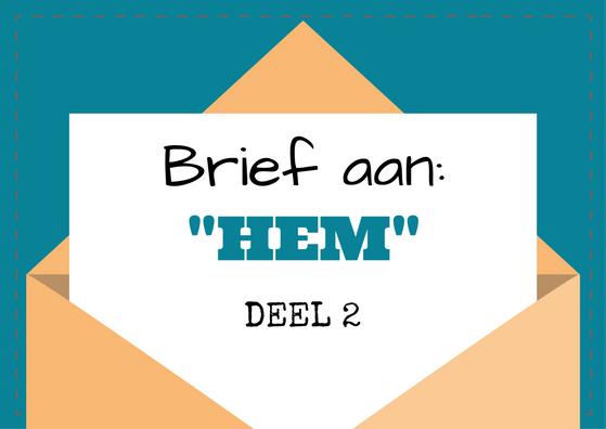 Brief aan HEM 2
